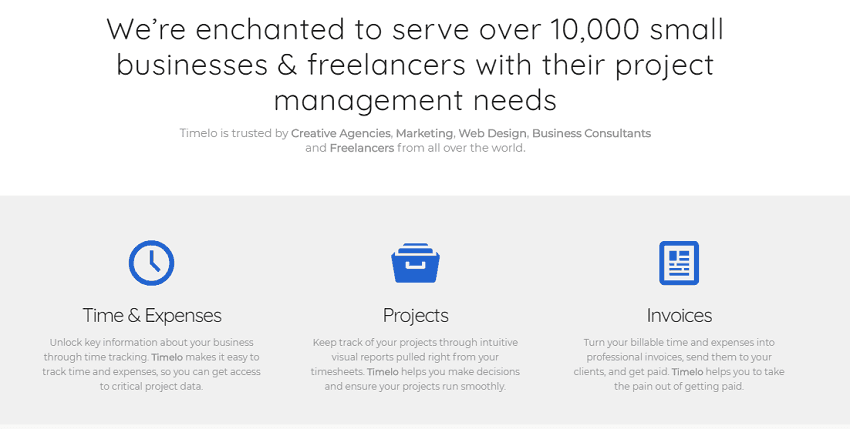 Project Management - Timelo a complete tool