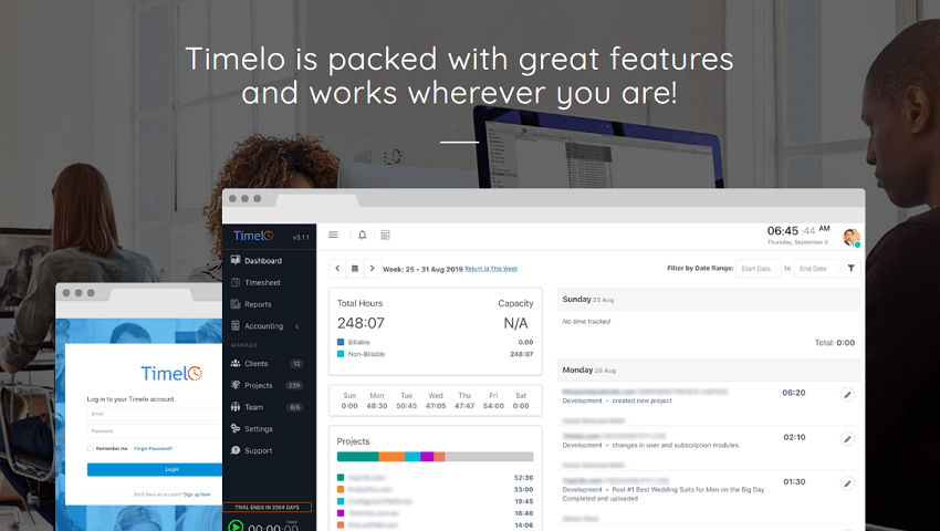 Cloud-Based Time Tracking Software