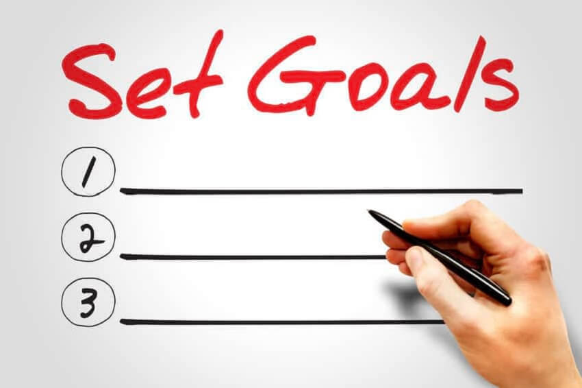Set Goal - Top 10 Time Management Tips