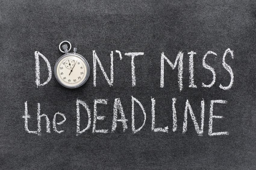Never Miss a Deadline Ever