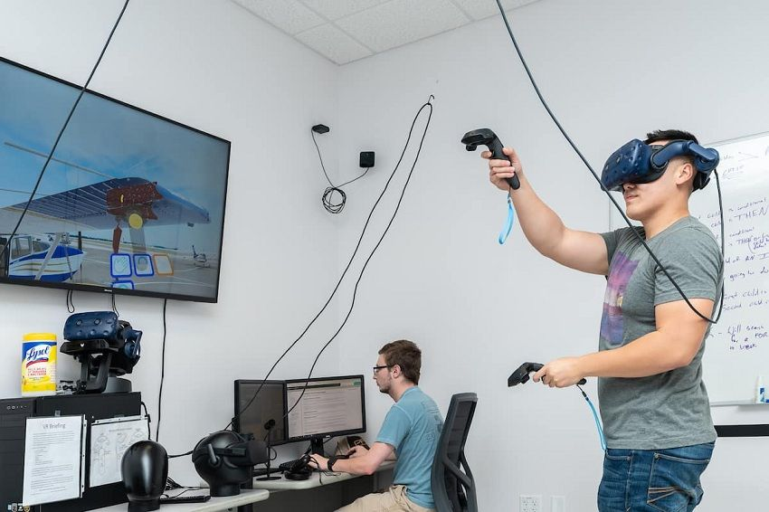 VR training can be cost efficient