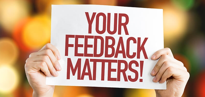 Your feedback matters - Improve the Spirit of Teamwork