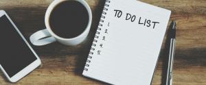 Make to-do list