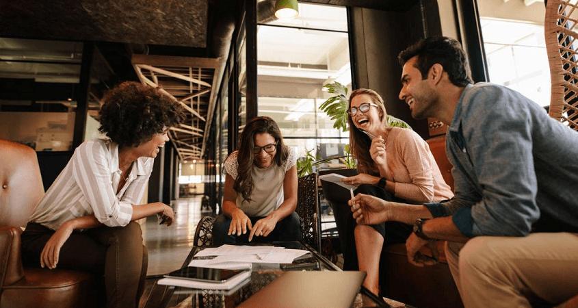 Socialization in office