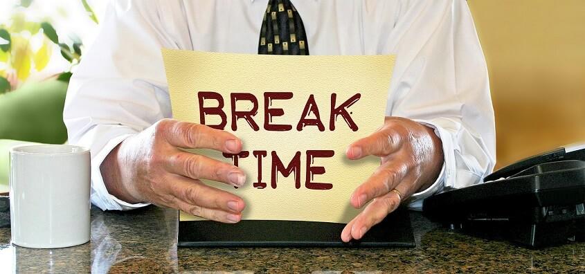 Short breaks in office