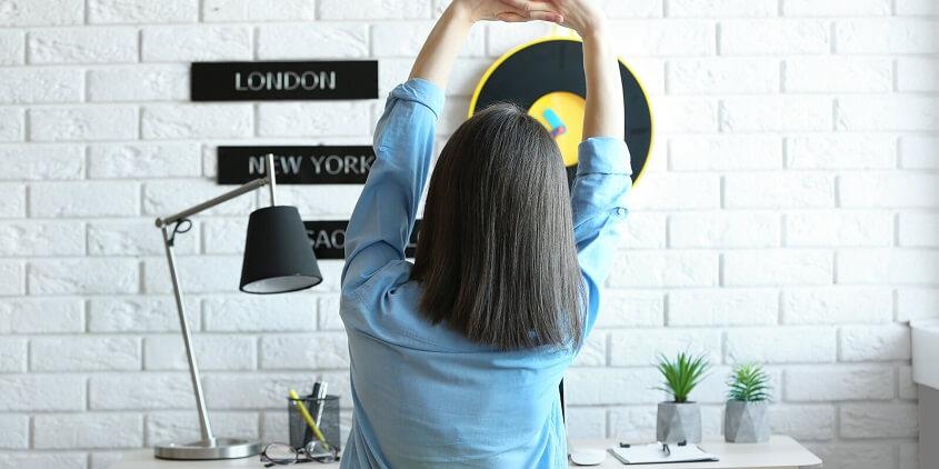 Take breaks at work - start working remotely