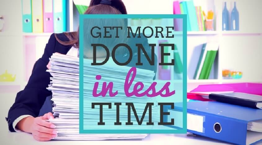 How to Get More Done?