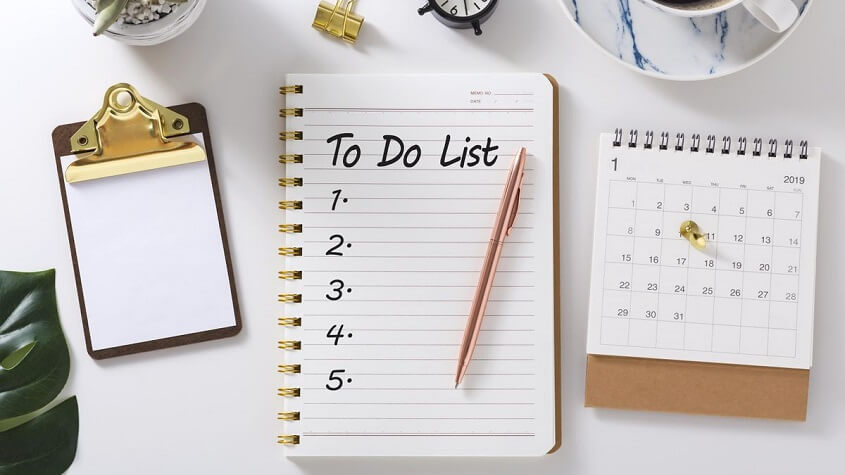 Follow to-do list - Eliminate Distractions at Work