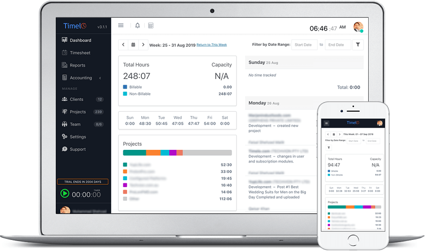 Employee Time Tracking - Timelo