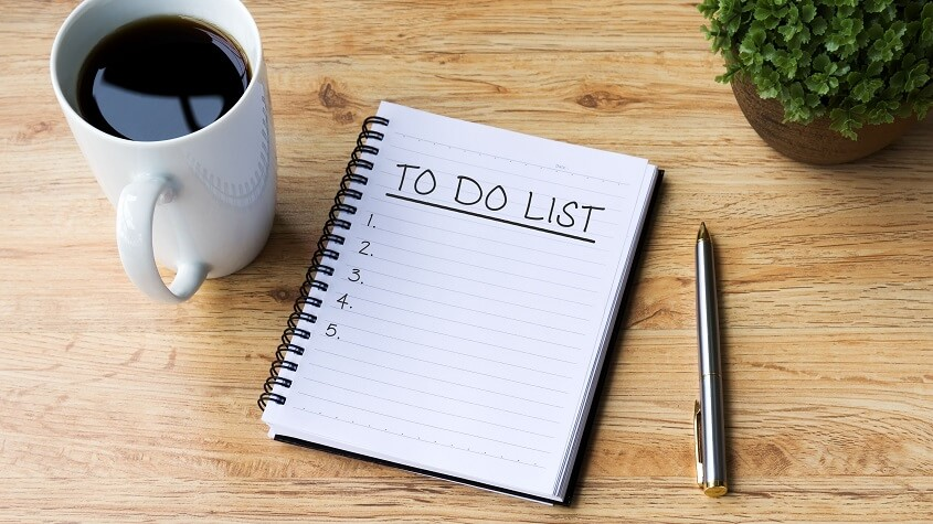 Create a To-Do List - Easy Ways to Save Time
