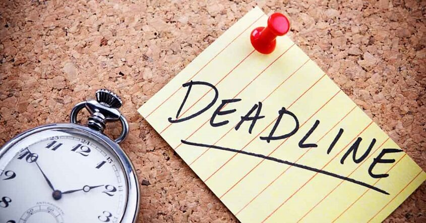Set Practical Expectations and Deadline
